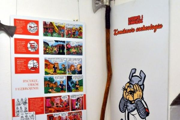Wernisaż wystawy Kajko i Kokosz