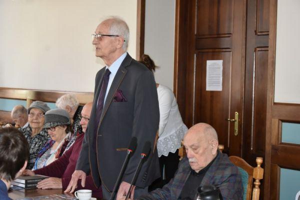 Spotkanie burmistrza z Kmbatantami i Sybirakami w UM Wałcz - wystąpienie p. Janusza Zwolińskiego