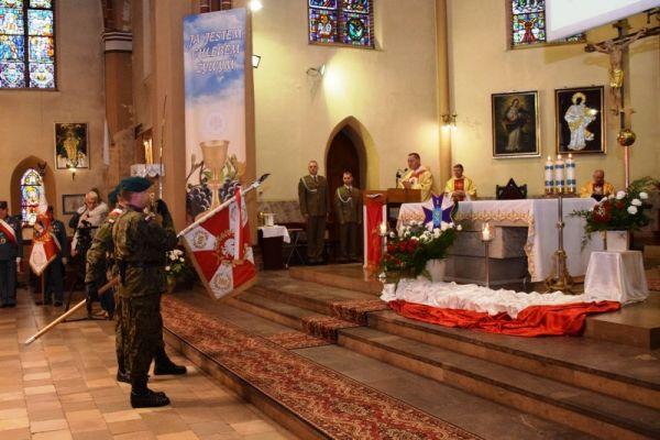 Msza św. w kościele pw. św. Mikołaja w Wałczu