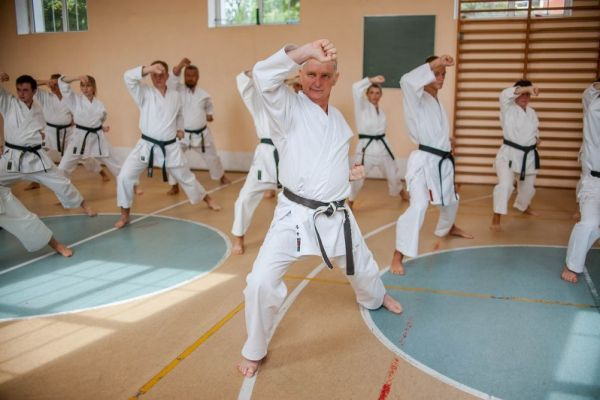 pokaz treningu