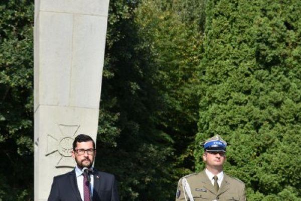 Przemówienie wicewojewody Marka Subocza