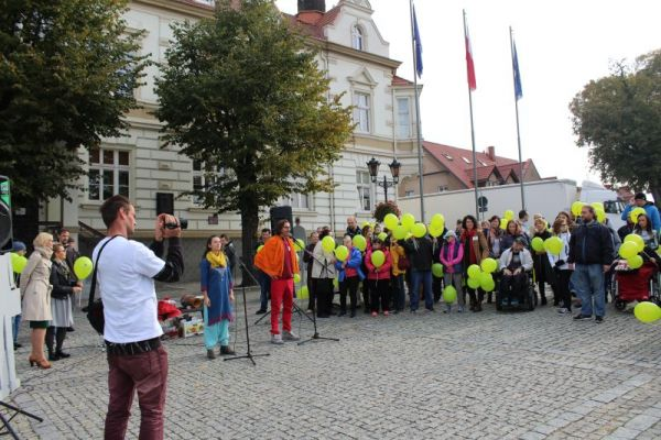 Przemówienie na placu wolności