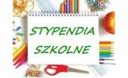 Stypendia szkolne w roku szkolnym 2018/2019